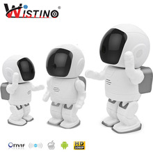 960P Robot IP Camera WIFI Baby Monitor 1.3MP Wireless CCTV Audio PTZ IR Night Vision Remote Home Smart Monitoring TF Card Indoor
