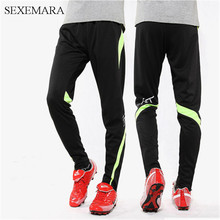 SEXEMARA soccer training pants children kids soccer pants tracksuit jogging football soccer sweatpants sport trousers