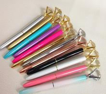 Christmas gift sw pen Elements Crystal metal Pen big diamond Ballpoint Pen office supplies retail wholesale Xmas gift pen