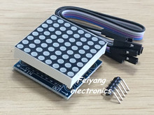 1PCS SAMIORE ROBOT MAX7219 dot matrix module microcontroller module display module finished goods(lan)(China)