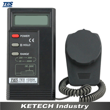 TES-1330A Digital Lux Meter Illuminometer luminance Meter Luxmeter Light Meter
