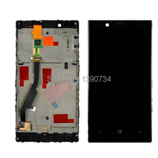 Top Quality Replacement For Nokia Lumia 720 N720 LCD Display with Touch Screen Digitizer Assembly + Frame Free shipping<br>