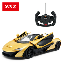 Luxury Sports RC Car 1:14 4WD 2.4Ghz On the Radio Controlled Remote Control Cars Adult Toy For Boys Mclaren P1 Gift(China)