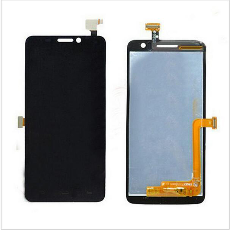 New Black White Touch Screen Digitizer Glass Sensor+LCD Screen For Alcatel OT8008 OT-8008A 8008W 8008D 8008X 8008 Replacements<br><br>Aliexpress