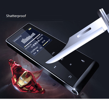 2017 Touch Key Bluetooth HIFI MP4 Player 8G Multi-language Shatterproof Scratch Resistant Recorder E-Book Metal Video Player