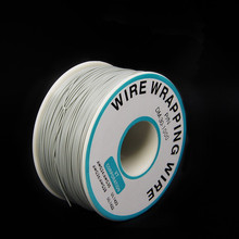 EziUsin Welding cable PCB Jumper Circuit Board 0.25mm Wire-Wrapping Electronic Wire 30AWG Cable 250m Grey