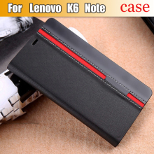 Lenovo K6 Note Case Flip PU Leather Luxury Fashion Stand Cover Case For Lenovo K6 Note With Phone Holder