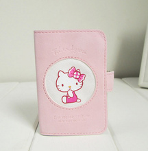 NEW Hello Kitty 20Cards 11*8CM Cards Holder BAG PVC ID Pouch Case BAG ; ID BUS Cards Holder Bags Pouch Case Women Card BAG Pouch