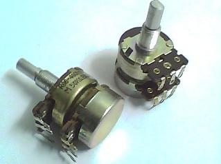 2PCS/LOT type 24 potentiometer R08-4001-05 50KB x 2 22MM shaft<br>