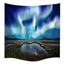 Star Galaxy Hanging Wall Hippie 3D Tapestry Polyester Beach Towel Home Art Decor Yoga Outdoor Camping Pad Home Background Cloth(China)