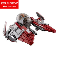 SERMOIDO Star Wars Obiwan's Jedi interceptor Micro Fighters Building Bicks Blocks Baby toys LEPIN 05020 - Store store