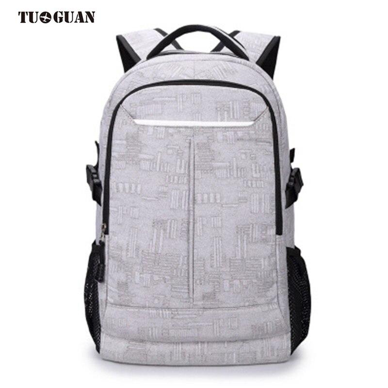 TUGUAN Fashion Men Camouflage Canvas Backpack Schoolbag Laptop Computer Bag Business Travel Back Pack for Male Boy Bagpack<br>
