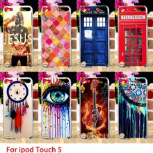 Soft TPU Cases For Apple iPod Touch 5 5th 5G touch5 Case Dreamcatchers Hard Cell Phone Cover Housings Bags Sheaths Skins Hoods