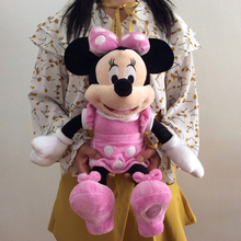 1pcs 17.7'' Pink Minnie Mouse Stuffed animals plush Toys,45cm High quality Pelucia Minnie Plush Toys