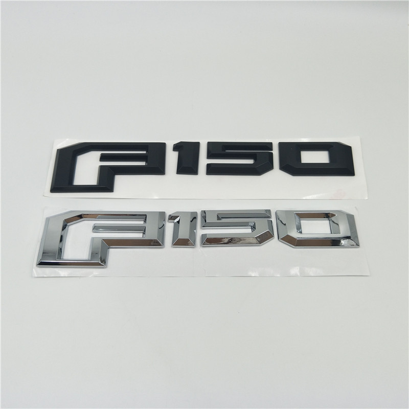 1x 2015-2018 F150 Rear Tailgate Emblem Badge 3D Nameplate for Ford F-150
