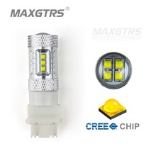 2x High Power T25 3157 80W CREE Chip XBD Car Auto LED Bulbs Turn Signal Brake Bulbs Brake-up Lamps DRL White/Red/Yellow