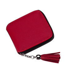PU Leather Coin Purses New Small Designer Slim Women Red Wallet Thin Zipper Ladies Female Purse Mini Clutch Cheap Womens Wallets
