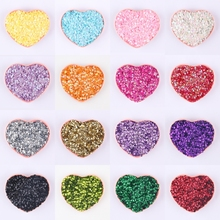 20g Round Cup Paillette Sequin 4mm 6mm PVC Loose Sequins For Crafts Women Garment DIY Wedding Sewing Decoration Lentejuelas(China)
