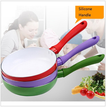 18cm Ceramic Pan Nonstick Frying Pan Ceramic Fry Egg Pan