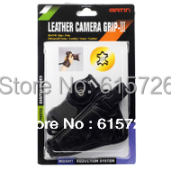 2pcs camera  Black small triangle Leather Soft Wrist Hand strap  for Can&n Nik&n S&ny SLR/DSLR Free ship+ tracking number