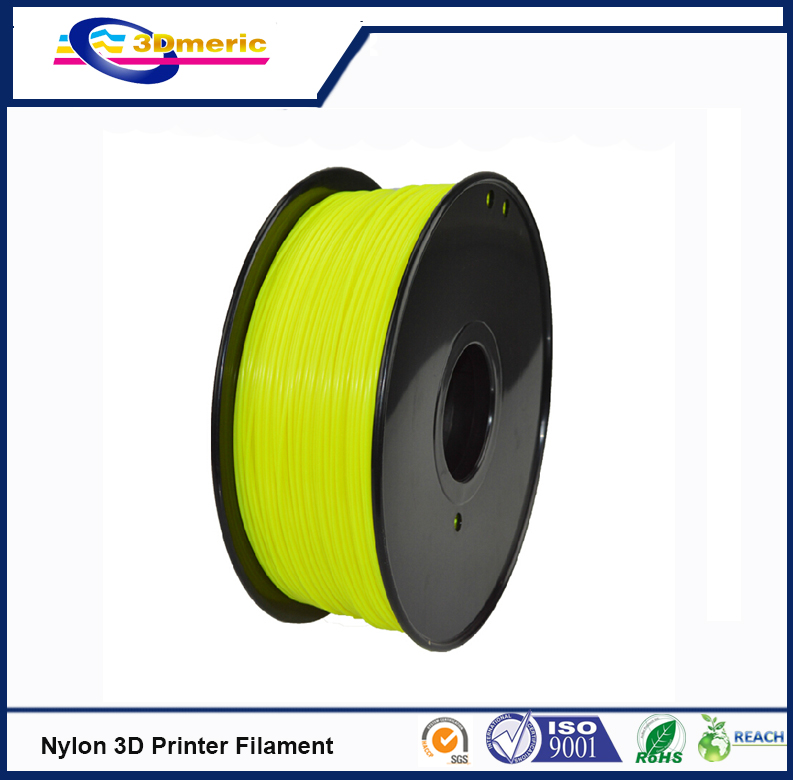 Yellow 3D Printers Dedicated Red 1.75mm 3D Filament Nylon Prints Cables for 3D Stereoscopic Printer<br>