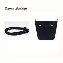 cbb309e95ebb Classic Mini Rope handle with Canvas waterproof Insert Inner Pocket for Obag  O Bag Women Handbag accessories