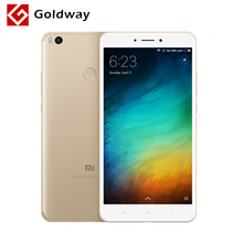 "Original Xiaomi Mi Max 2 Max2 4GB RAM 64GB Mobile Phone 6.44"" Snapdragon 625 Octa Core 12.0MP OTG Fingerprint ID 5300mAh Batter(Hong Kong,China)"