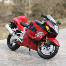 1/12 Scale Diecast Motorbike Model Toys GSX 1300R  Metal Motorcycle Model Toy In Stock