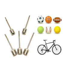 5pcs Stainless steel pump ball pin Basketball Soccer Volleyball gas needle inflatable Needle metal pin