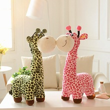40CM Cute Giraffe Plush Toy Child Stuffed Toys Animal Doll For Children Birthday Gifts MR27