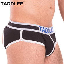 Buy Taddlee Men Jockstraps Gay Penis Pouch Sexy Thong G Strings Backless Buttocks Mens Jock Straps Underwear Briefs Bikini Cotton