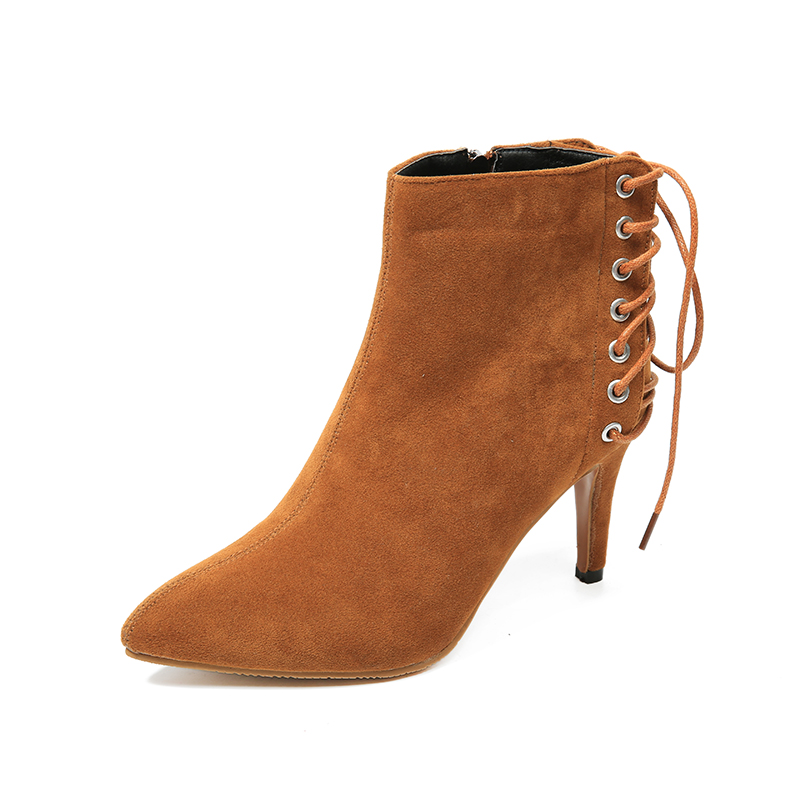 Women boots shoes pu Leather shoes chains  Zapatos mujer Fashion martin shoes buckle ankle boots young ladies boots sh020112<br><br>Aliexpress