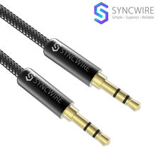 [Lifetime Warranty] Syncwire AUX Cable Nylon Braided 3.5mm Audio Cable for Beats Headphones, Apple iPod iPhone iPad, Samsung