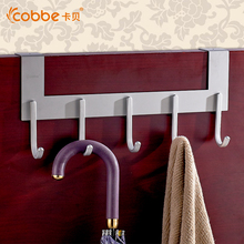 Restroom Coat Clothes Hooks Modern Hooks Door For Aluminum Bathroom Accessories Convenient Hooks For Clothes On The Door Cobbe