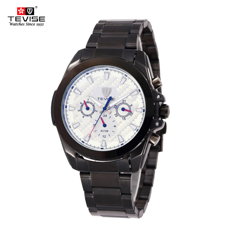 TEVISE Brand 2017 New Style sports Men Watch  Automatic Mechanical Watches Clock Men stainless steel Wristwatches Relogio<br>