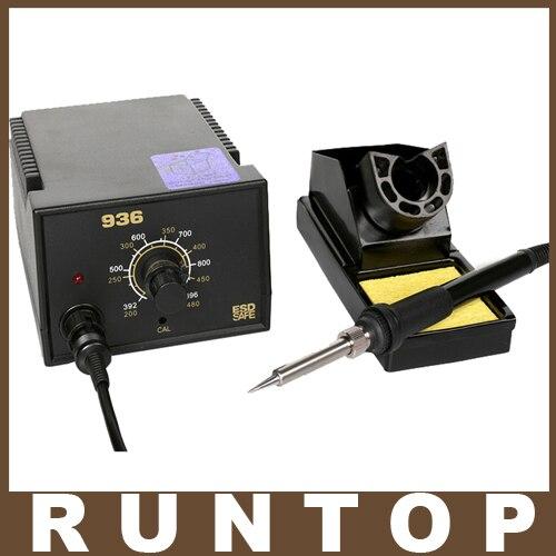 220V EU Plug 75W Electric Soldering Station Digital Solder Irons Welding Machine for Hakko 936<br>