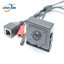 HQCAM 1080P Wide Angle120 degrees IP Audio video camera 2.0MP IP camera Mini 2.1mm MINI IP camera microphone camera P2P network(China)