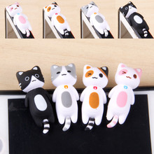 SIANCS Cheese Cat 3.5mm Earphone Jack Anti Dust Plug Stopper Cap For iphone 5 5S 6 6S plus for sumsang for xiaomi htc(China)