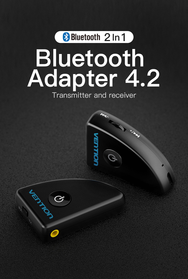 Vention Bluetooth Audio Music Receiver Wireless Car Aux Adapter Support AAC BI1