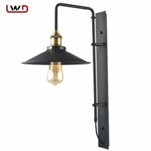 European style Wall Lamp Outdoor Balcony Aisle Lamp Waterproof Dew Courtyard Lamp Retro Bar Stairs Wall Light(China)