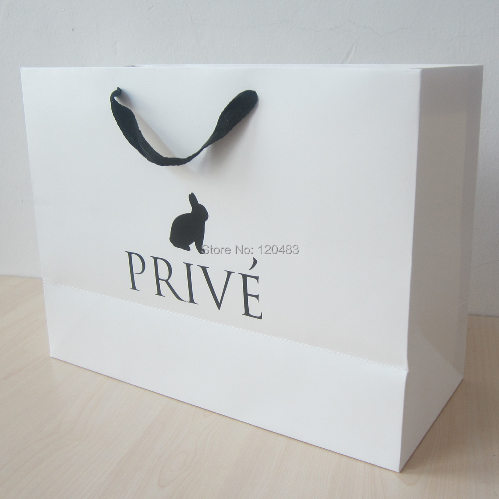 buy wholesale one color paper bag printing from china one