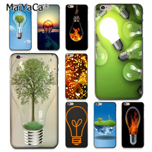 Buy MaiYaCa green ideas light bulb Colorful Phone Accessories Case Apple iPhone 8 7 6 6S Plus X 5 5S SE 5C case for $1.45 in AliExpress store