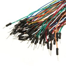 70pcs/Lot New Solderless Flexible Breadboard Jumper wires Cables Bread plate line High Quality(China)