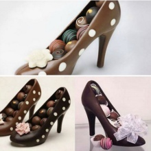 Brand 3D Candy Molde Shoe Shape Chocolate Molde Cake Decoration Molde High Heel Sugar Paste
