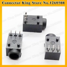 1 Piece 3pin DIP Power DC Jack Connector Socket, Hole dia 3.5mm Pin 1.35mm Size 11x6.3x5mm,used in tablet PC PDA,DC-017