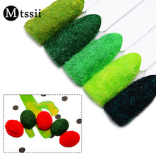Mtssii 5 Colors Velvet Nail Powder Christmas Fuzzy Flocking Nail Glitter Powder Nail Art Decoration DIY Manicure Powder Dust(China)