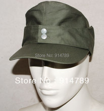 WWII GERMAN ARMY EM SUMMER PANZER M43 FIELD COTTON CAP SIZE M-32512