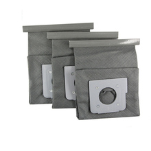 3 pcs washable vacuum cleaner bags hepa filter dust bag cleaner bags For LG V-743RH V-2800RH V-943HAR V-2800RH V-2810 V-4800(China)