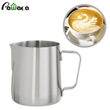 Japanese Stype Thicken Stainless Steel Milk Frothing Pitcher jug Pull Flower Cup Cappuccino Cooking Tool Art DIY espresso coffee