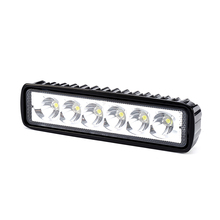 iSincer 18W 12V LED Work Light Bar Spotlight Flood Driving Light Fog Offroad Led Bar Car Lamps For Jeep Toyota SUV 4WD ATV Truck